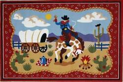 Fun Rugs Olive Kids Ride 'Em OLK-021 Multi Area Rug