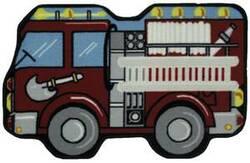Fun Rugs Fun Time Shape Fire Engine QLTS-116 Multi Area Rug