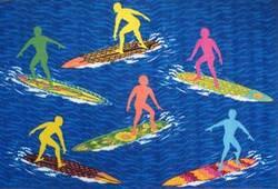 Fun Rugs Surf Time Surfs 'R Us ST-23 Multi Area Rug