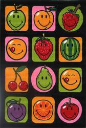 Fun Rugs Smiley World Fruitti SW-18 Multi Area Rug