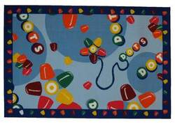 Fun Rugs Tootsie Roll Tootsie Roll Dots TR-01 Multi Area Rug