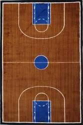 Fun Rugs Supreme Basketball Court TSC-152 Multi Area Rug