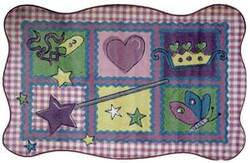 Fun Rugs Supreme Fairy Quilt TSC-220 Multi Area Rug