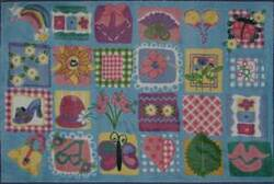 Fun Rugs Supreme Funky Girls Quilt TSC-247 Multi Area Rug