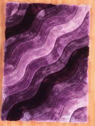 Linon Links Lk11 Purple Area Rug