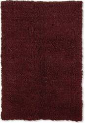 Linon New Flokati 1400 Grams Burgundy Area Rug