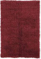 Linon New Flokati 1400 Grams Red Area Rug