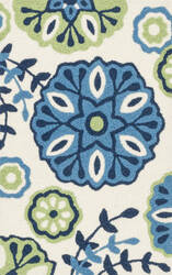 Loloi Angelou AN-18 Blue / Green Area Rug