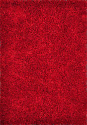 Loloi Carrera Shag CG-01 Red Area Rug