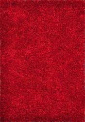 Loloi Carrera Shag CG-01 Red Area Rug