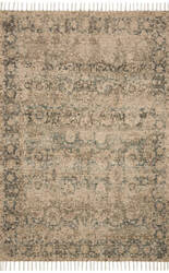 Loloi Cornelia Cor-01 Natural - Teal Area Rug