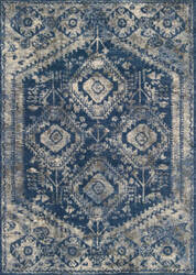 Loloi Emory Eb-13 Blue - Pebble Area Rug