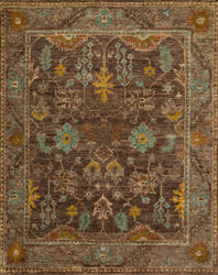 Loloi Empress Eu-01 Brown - Taupe Area Rug