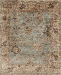 Loloi Empress Eu-06 Light Blue - Natural Area Rug