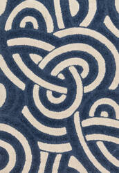 Loloi Enchant En-17 Navy - Ivory Area Rug