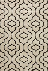 Loloi Enchant En-22 Ivory - Dark Brown Area Rug