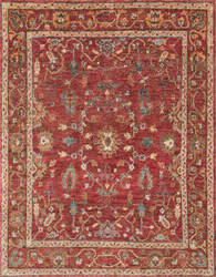 Loloi Empress EU-05 Red / Red Area Rug