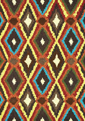 Loloi Enzo EZ-05 Brown-Multi Area Rug