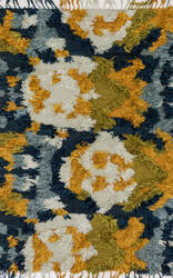 Loloi Fable Fd-04 Marine - Gold Area Rug