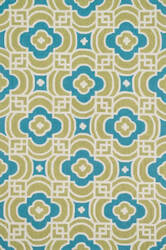Loloi Francesca FC-46 Lime / Blue Area Rug