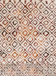 Loloi Folklore Fw-04 Ivory - Spice Area Rug