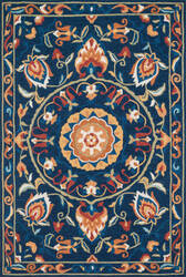 Loloi Francesca Fracfc-54 Blue / Spice Area Rug