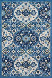 Loloi Francesca Fc-62 Blue - Ivory Area Rug
