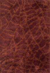 Loloi Garden Shag Gn-02 Red / Rust Area Rug