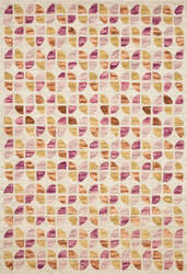 Loloi Hallu By Justina Blakeney Hal-05 Ivory - Sunset Area Rug