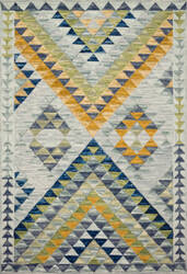 Loloi Hallu By Justina Blakeney Hal-07 Spa - Gold Area Rug