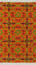 Loloi Aria AR-13 Orange / Multi Area Rug