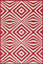 Loloi Catalina CF-04 Red / Ivory Area Rug