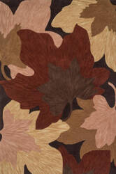 Loloi Flora FL-03 Brown / Beige Area Rug