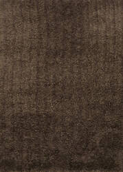 Loloi Hera Shag Hg-01 Hm Collection Chocolate Area Rug