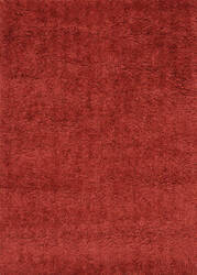 Loloi Hera Shag Hg-01 Hm Collection Red Area Rug