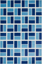 Loloi Gracie GE-04 Ivory / Blue Area Rug