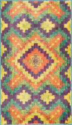 Loloi Isabelle IS-03 Orange / Green Area Rug