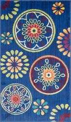 Loloi Isabelle IS-08 Blue / Multi Area Rug