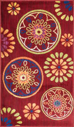 Loloi Isabelle IS-08 Red / Multi Area Rug