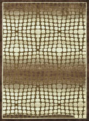 Loloi Halton HL-16 Dark Brown - Beige Area Rug