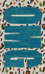 Loloi Skylar SK-08 Cheetah / Blue Area Rug