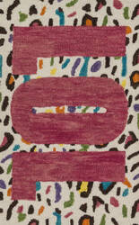 Loloi Skylar SK-09 Cheetah / Pink Area Rug