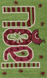 Loloi Skylar SK-17 Green / Red Area Rug