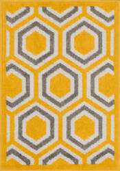 Loloi Terrace TC-01 Lemon / Grey Area Rug