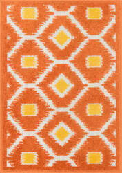 Loloi Terrace TC-08 Orange / Lemon Area Rug