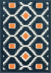 Loloi Terrace TC-08 Navy / Orange Area Rug