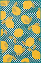Loloi Tilley TI-05 Blue / Yellow Area Rug