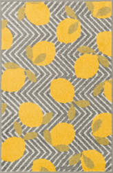 Loloi Tilley TI-05 Grey / Yellow Area Rug