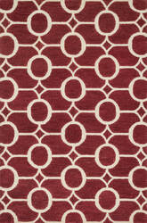 Loloi Taylor Hty09 Red / Ivory Area Rug