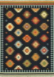 Loloi Isara Ia-03 Black / Multi Area Rug